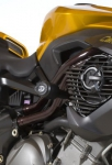 Crash pady R&G RACING - aero - benelli tnt 04- / 1130 cafe racer black