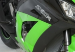 Crash pady R&G RACING - aero - kawasaki zx10-r 11- race only black