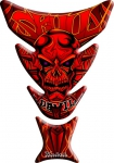 Tank pad keiti mask red